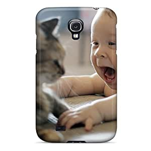 Premium Not Scared Yet Back Cover Snap On Case For Galaxy S4