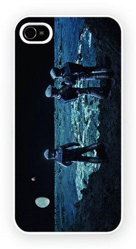 2001: A Space Odyssey - Moon, iPhone 5 5S, Etui de téléphone mobile - encre brillant impression