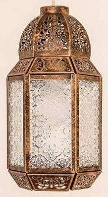 metal glass moroccan lantern ceiling light shade pendant copper