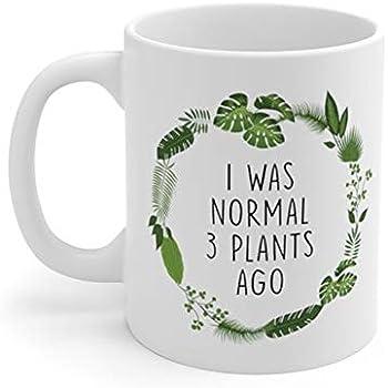 f35d097fdb4 AliceHitMood - I Was Normal 3 Plants Ago Mug, Crazy Plant Lady Mug, Gardener  Mug, Gardening Mug, Plant Lover Gifts, Gardener Gift, Plant Lady Mug, ...