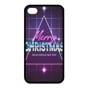 Custom Christmas Back Cover Case for iphone 4,4S JN-517
