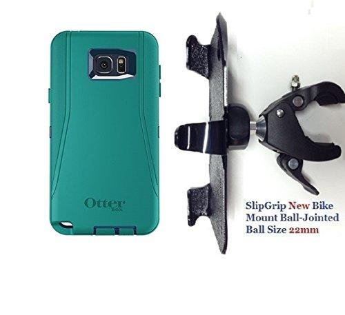 "SlipGrip 1.5"" Bike Holder For Samsung Galaxy Note 5 Using..."