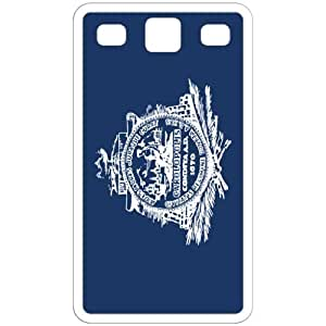 Charleston South Carolina SC City State Flag White Samsung Galaxy S3 - i9300 Cell Phone Case - Cover