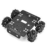 OSOYOO 4WD Omni Wheel Robotic Mecanum Wheel Robot