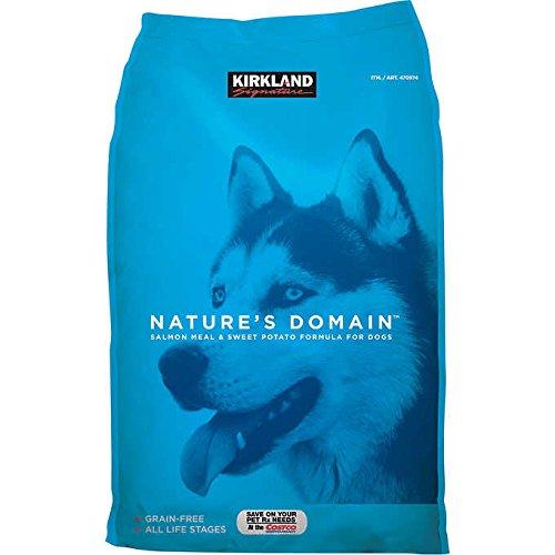 Dealmor Nature's Domain Salmon Meal & Sweet Potato Dog Food 35 - Kirkland Food Dog Free Grain