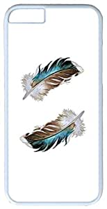 Two Mallard Feathers iPhone 6 Case iPhone 6 Cover Apple 6 Case