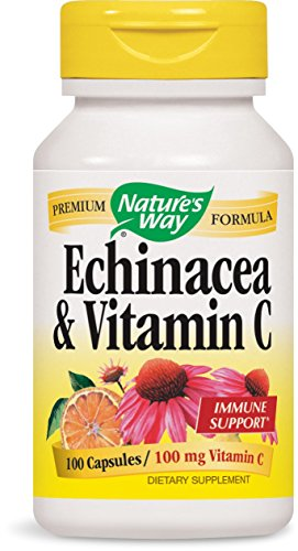 Nature's Way Echinacea and Vitamin C, 100 Capsules (Pack of 2) Review