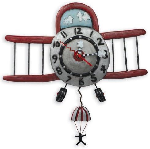 Allen Studio Designs Airplane Jumper Clock