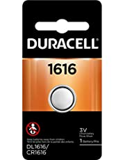Duracell - 1616 3V Lithium Coin Battery - long lasting battery - 1 count