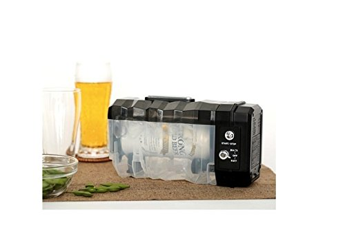 Rapid Drink Can Cooler Cooling time: 6-8 minutes to reach subzero temperature, Max size 16.9 fl oz (Mini Frige Lock compare prices)