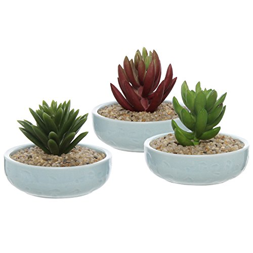 set-of-3-mini-hand-painted-aqua-blue-ceramic-small-plant-dishes-decorative-airplant-containers