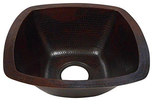 Rectangular Copper Bar Sink - 2