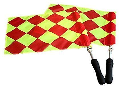 Donal Soccer Referee Flags | Official Linesman Flags (Linesman Flags Soccer)