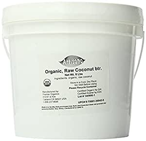 Artisana Organics - Coconut Butter, USDA Organic Certified and Non-GMO Handmade Rich and Thick Spread  (8 lbs)