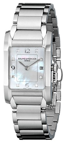 Baume & Mercier Women's MOA10050 Quartz Stainless Steel Mother-of-Pearl Dial Watch
