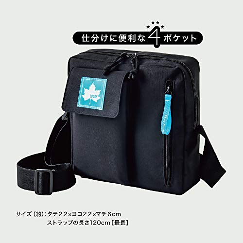 LOGOS SHOULDER BAG BOOK 画像 B