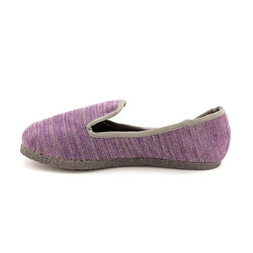 Prachtige Dames Slip Door Loafer Plum