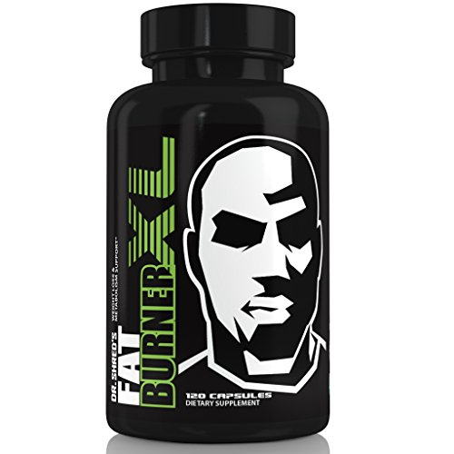 FAT BURNER XL - The NATION'S FIRST FOUR STEP Thermogenic Muscle Preserving Fat Burner - Garcina, Green Tea, CLA, & 7 More Fat Burners - Fat Burner supplements are for MEN and WOMEN Weight Loss by Dr. Shred