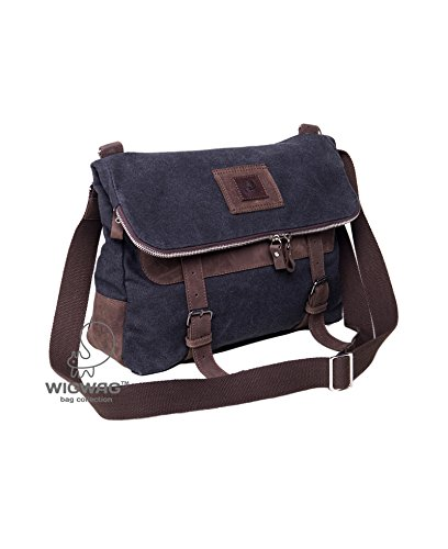 Amazon.com  Canvas leather convertible bag fc101fc9bc5be