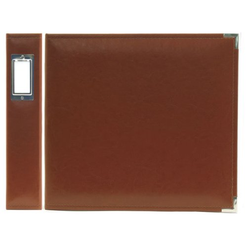 12x12 Album Chocolate (We R Memory Keepers Classic Leather 3-Ring Binder Album, 12 by 12-Inch, Dark Chocolate)