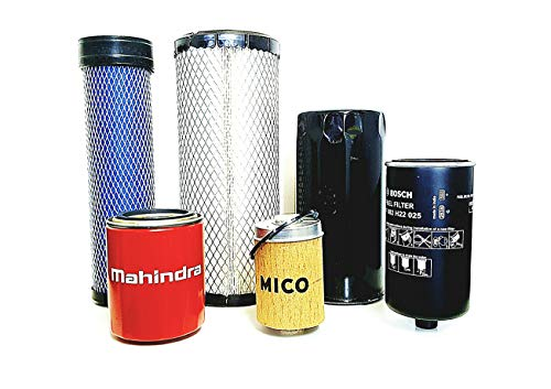 Economy Tractor - Mahindra Filter Economy Pack of 6 Filters 4540 & 4550