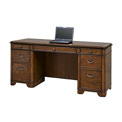 Delicieux Amazon.com: Martin Furniture Kensington Computer Credenza   Fully Assembled:  Kitchen U0026 Dining