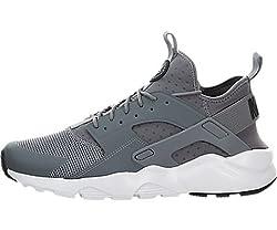 Nike Mens Air Huarache Run Ultra Cool Greyblackwhite Running Shoe 10 Men Us