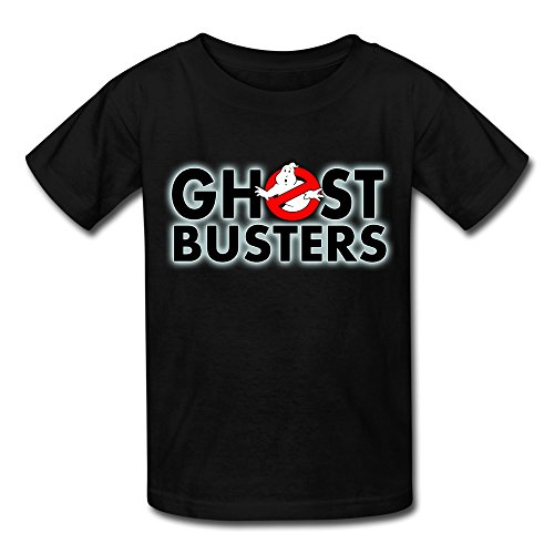 Ghostbuster T Shirts For Kids (Kid's Geek A Ghost Busters Logo T-shirts Size S Black By Mjensen)