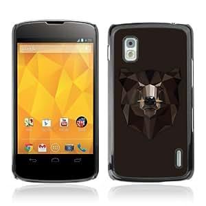 Designer Depo Hard Protection Case for LG Nexus 4 E960 / Cool Bear