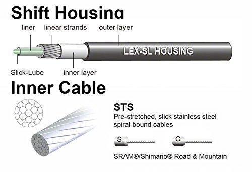 Jagwire Universal Sport Shift Cable Kit, Pink by Jagwire (Image #3)