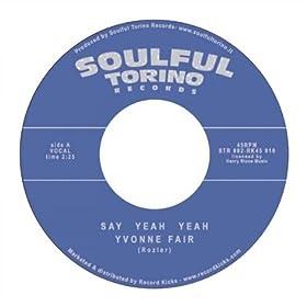 Yvonne Fair Say Yeah Yeah - Straighten Up