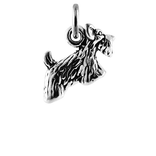 TheCharmWorks Sterling Silver Scottie Dog Charm