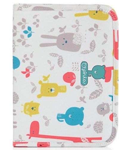 Pirulos 47812220 - Portadocumentos, diseño happy zoo, 25 x 17 x 9 cm, color blanco y gris: Amazon.es: Bebé