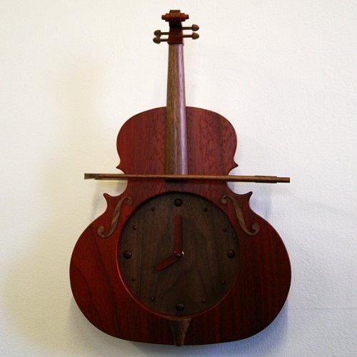 振り子時計バイオリン パドック(SU-VIOPA) B00D2YPDTO
