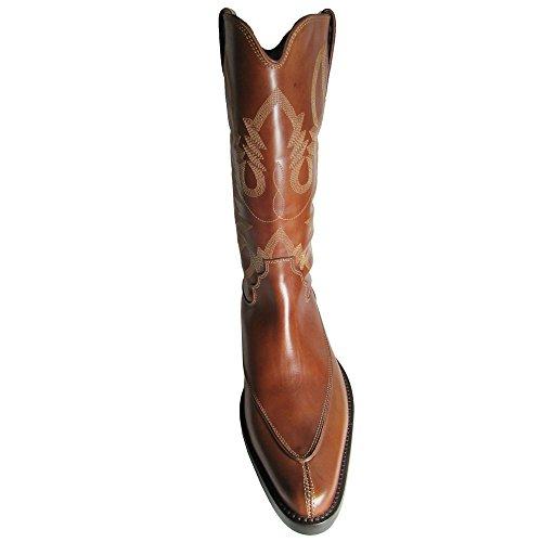 Donald J Pliner Handtekening Heren Jwest-5x Western Boot Shoe Tan