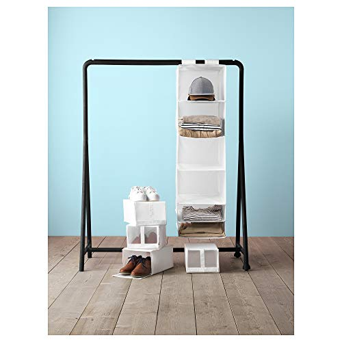 Ikea Skubb stockage GRIS /& BLANC VR