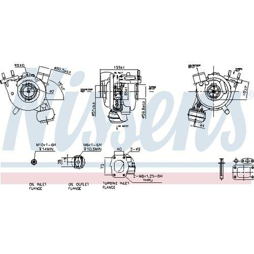 Nissens 93247 Turbo Charger: