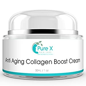 Anti Aging Cream / Anti Wrinkle Cream with Vitamin C & Retinol, Daily Collagen Cream Face Moisturizer Reduces Wrinkles, Rejuvenating Skin Care Face Lotion for Women & for Men 1oz Cream
