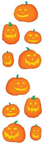 Mrs Grossman Sticker Roll - Full Roll - Mrs Grossman's Stickers - Halloween Pumpkins