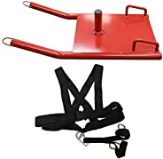 Valor Fitness Weight Sleds for Training - Prowler Sled, Speed Sled, Weight Sled, Workout Sled All with Sled Harness for Stre