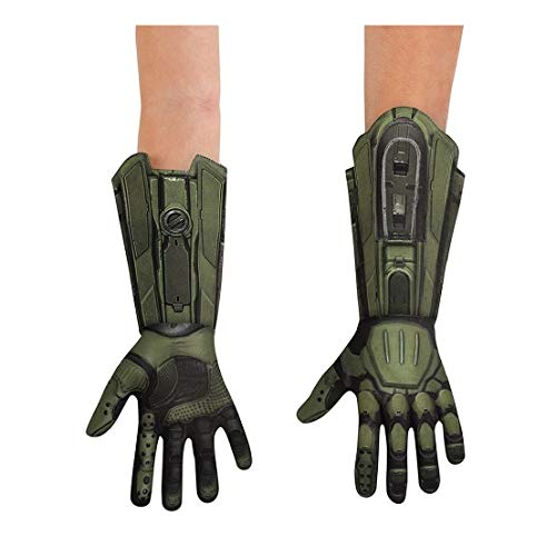 Halo Master Chief Deluxe Adult Gloves Green for $<!--$24.55-->