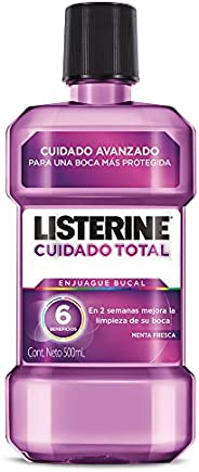 Enjuague Bucal Listerine Cuidado Total 500 ml