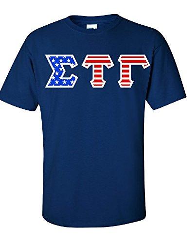 sigma-tau-gamma-greek-letter-american-flag-tee-medium-navy-blue