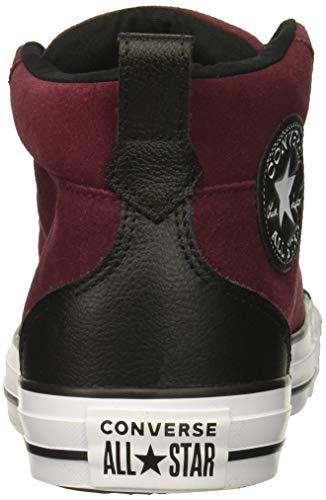 Adulto CTAS Zapatillas 613 Unisex Black Mid Dark Burgundy Deporte de White Street Multicolor Converse 0tq1d0
