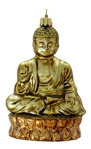 Landmark Creations Peaceful Buddha Polish Glass Blown Christmas Ornament - Amazon.com: Landmark Creations Peaceful Buddha Polish Glass Blown