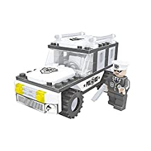 Ausini Police Chief and Police Jeep Vehicle 112pc Building Blocks Educational Set Compatible to Lego Parts - Best Gift for Boys and Girls