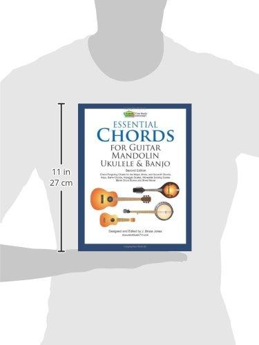 Amazon.com: Essential Chords for Guitar, Mandolin, Ukulele and ...