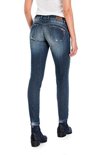 Push Up Broderie Jeans Wonder Salsa Avec Capri Bleu 8m0OnwvyN