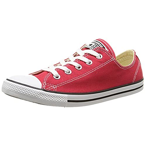 928bc89c8bbdd9 outlet Converse Women s Chuck Taylor All Star Dainty Red Sneaker - 8.5 B(M)