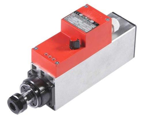 Eje HF de 1 kW o 24.000 rpm. ER20 incluye husillo de fresado para una oferta especial.: Amazon.es: Industria, empresas y ciencia